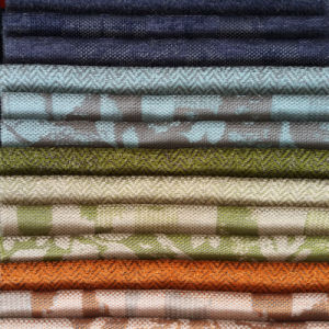 Yarn Dyed Upholstery Home Textile Polyester Woven Sofa Fabric