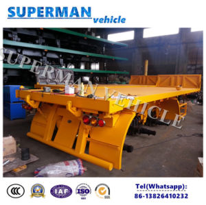 20FT Flatbed Container Front Lifting Tipper Dumper pictures & photos