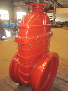 Awwa C509 Resilient Seat Gate Valve, Top Flange for Actuator pictures & photos