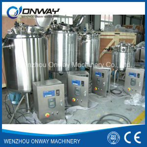 Pl Stainless Steel Jacket Emulsification Mixing Tank Oil Blending Machine Crystallizer Tank pictures & photos