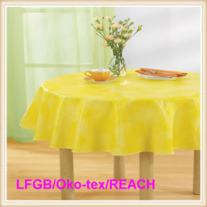 PEVA Table Cloth for Wedding/Party/Banquet / Picnic pictures & photos