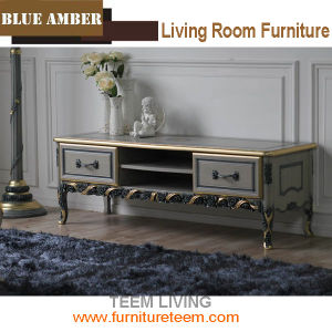 2016 New Collection Luxury Blue Amber Collection Cabinet Ba-1902 Solid Wood Cabinet Living Room TV Cabinet New Design Cabinet pictures & photos