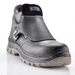 Fire Fighting Safety Shoes with Steel Toe Cap M-8181 pictures & photos