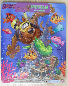 35 Pieces Cartooning Papercard Puzzle Jigsaw pictures & photos