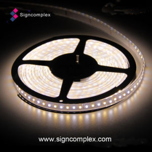 140lm/W High Luminous Efficacy Flexible LED Strip with UL TUV Ce RoHS pictures & photos