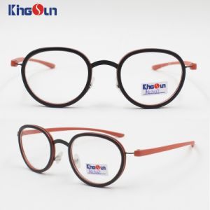 Kid′s Tr90 Mix Metal Frame with Slim Temple Optical pictures & photos
