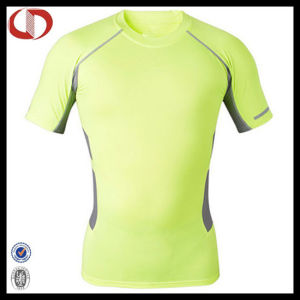 Custom Wholesale Youth Compression Men Shirts pictures & photos