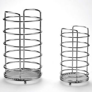 Kitchen Wire Holder Basket Storage Kitchen Tool Holder Wt-A840c pictures & photos