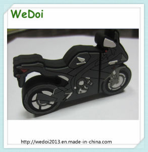 Popular Customized Motorcycle USB Stick with 1 Year Warranty (WY-PV111) pictures & photos