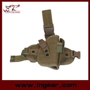Tactical 600d Nylon Drop Leg Holster for M92 94 Pistol Gun Holster pictures & photos