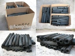 High-Performance Black Hexagon Stick BBQ Carbon pictures & photos