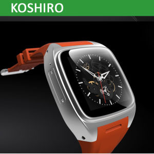 Android Smart Watch Mobile Phone with GPS WiFi 3G WCDMA pictures & photos