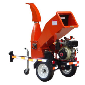 10HP Professional Diesel Wood Chipper pictures & photos