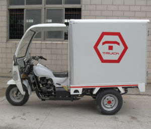 Closed Motorized China Cargo Tricycle with Box (SY250ZH-E7) pictures & photos