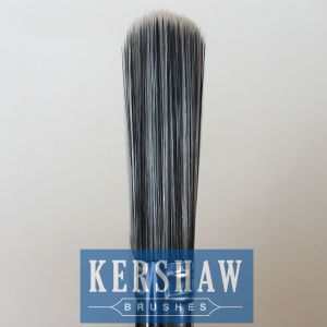 Paint Brush (paintbrush, black & white filament flat brush with plastic handle) pictures & photos
