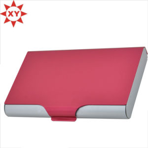 Aluminum Wallet Credit Card Holder Incredible Wallet with RFID Protection (XL Red) pictures & photos