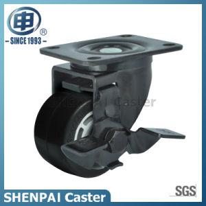 """2.5""""Aluminium Core Rubber Swivel Locking Caster Wheel pictures & photos"""