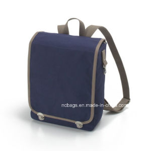 Designer Fashion Canvas School Sports Bag Backpack (SBB-044#) pictures & photos