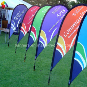 Custom Teardrop Flag with Base and Pole pictures & photos