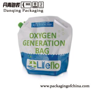 Oxygen Generation Bag, Die Cut Stand up Pouch with Spout pictures & photos