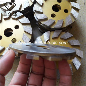 CD-51 Diamond Grinding Plate for Stone Concrete Polishing Machine (4 inch grit 50) pictures & photos