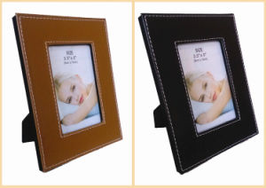 Stitching Leather Photo Frames pictures & photos