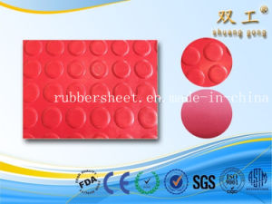 Round DOT Anti-Slip Rubber Mat