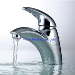 Fashion Sigle Lever Washbasin Mixer Basin Faucet (F-102) pictures & photos