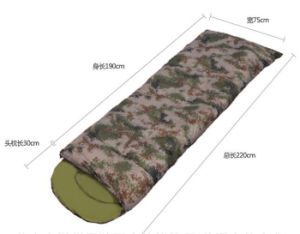 Camouflage Envelope Can Be Spliced Outdoor Spring Sleeping Bag pictures & photos