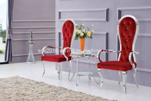 2016 Modern Hotel Furniture Stainless Steel Lounge Chair pictures & photos
