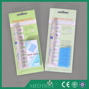 CE/ISO Approved Safety Blood Lancing Device (MT58054101) pictures & photos