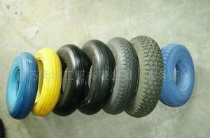 400-8 PU Foam Wheels Solid Wheels Manufacture pictures & photos
