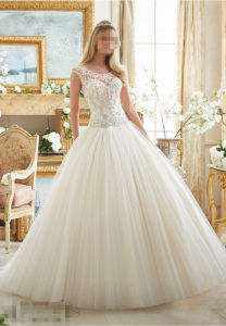 Beaded Ball Gown Bridal Wedding Gowns 2884 pictures & photos