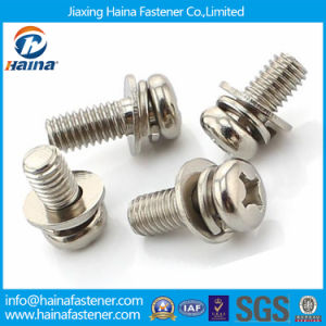 Made in China Stock Stainless Steel Combination Screw pictures & photos