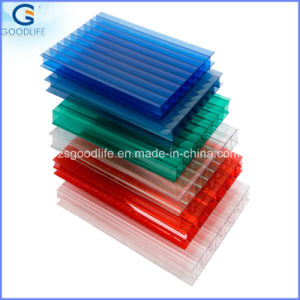 4-Wall Polycarbonate Sun Sheet Supply by Factory pictures & photos