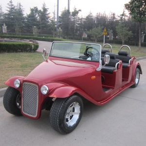 Luxury Old Style Electric Vintage Golf Cart (DN-6D) pictures & photos