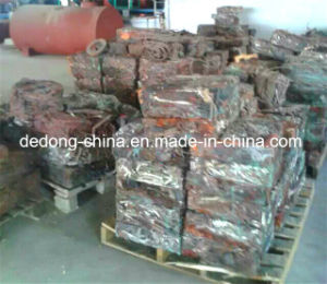 Scrap Copper Rod Continuous Casting & Rolling Machine Line