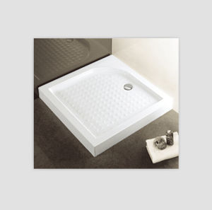 900X900mm Square Shower Base with Anti-Sliding Tray pictures & photos