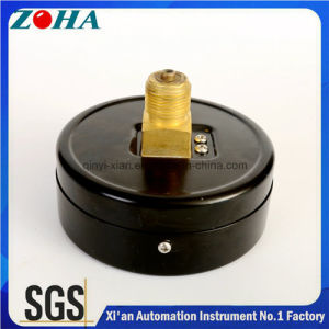 4 Inch Axial Mounting Normal Pressure Gauges 0.16MPa Accuracy 1.5% Multiuse pictures & photos