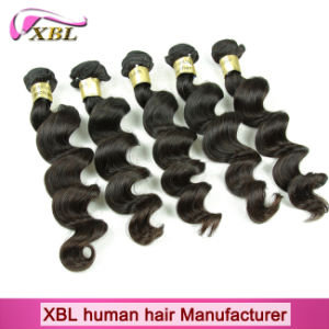Unprocessed One Donor Original 100 Brazilian Natural Human Hair pictures & photos