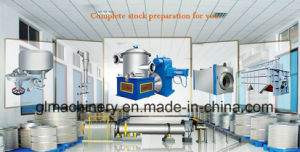 20 T/D Waste Paper Repulping Recycle Paper Stock Preparation Line pictures & photos