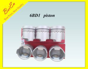 Piston for Excavator Ex200-1/2/3 Engine 6bd1 Part Number: 1121117770 pictures & photos