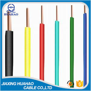 PVC Insulated Copper Conductor BV Electric Wire Cable pictures & photos