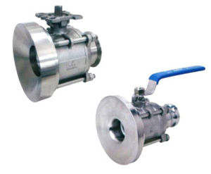 Stainless Steel Vessel or Baiting Valve Ball Valve pictures & photos
