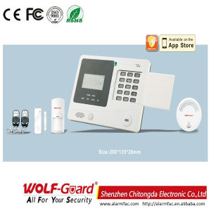 M2k Wireless Hom or Shop Use GSM Barglar Alarm System pictures & photos