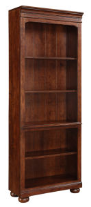Wood Antique Home Furniture Bunching Bookcase Cabinet