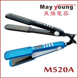 Ce Certificate Mch Heater Digital Hair Straightener (M520) pictures & photos