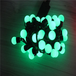 40mm Waterproof IP44 LED Ball String Light pictures & photos