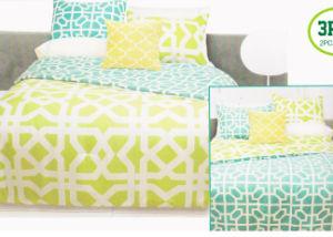 Printed Microfiber Quilt Comforter Set I pictures & photos