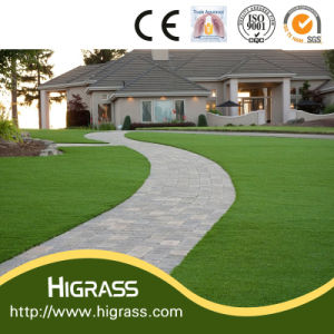 Landscape Turf 35mm Height Multicolor Artificial Grass Roll Carpet pictures & photos
